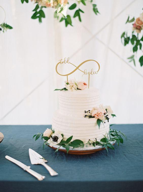 Топпер для весільного торту Зображення