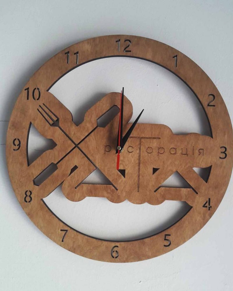 Лазерна різка годинника